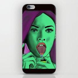 I Am God iPhone Skin