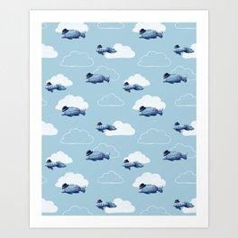 Fly Fish Fly Art Print