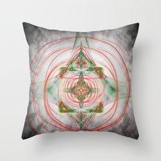 The Spiritual Centre Throw Pillow