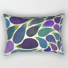 Eggplant's party Rectangular Pillow
