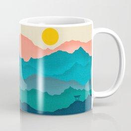 Meditating Samurai Coffee Mug