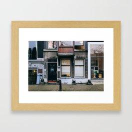 Grachtengordel - Amsterdam, The Netherlands - #9 Framed Art Print