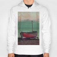 sailboat Hoodies featuring Sailboat by Regan's World