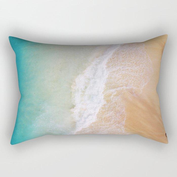 Dream Beach Rectangular Pillow