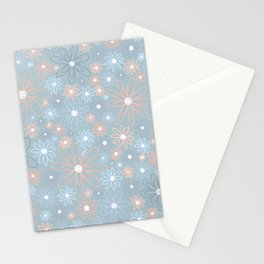 Pales and Grays Stationery Cards