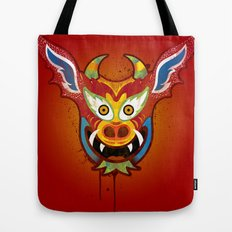 Yare Devil Mask Tote Bag