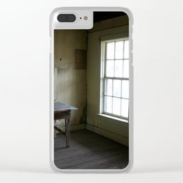 Decaying Memories Clear iPhone Case