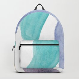 Gem Colored Stones Abstract Backpack