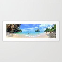 Railay Beach Thailand Art Print