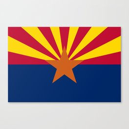 Arizona: Arizona State Flag Canvas Print