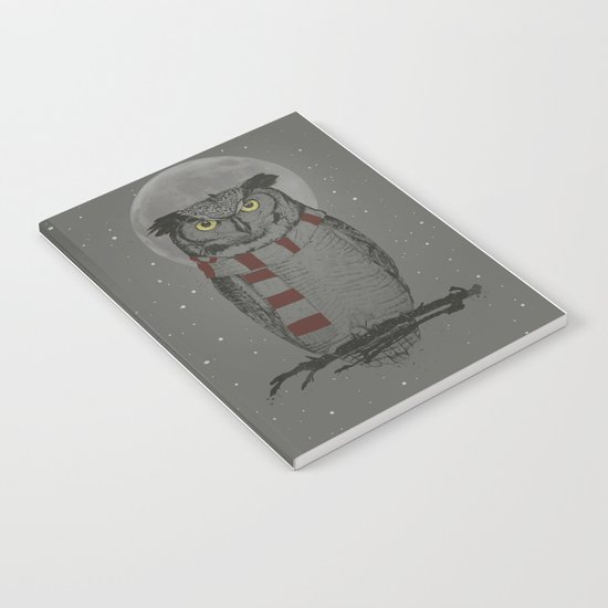 Winter owl Notebook