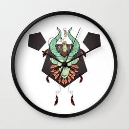Holy Deer Wall Clock