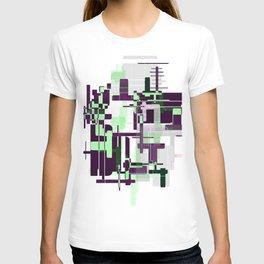 Mint Green City T-shirt