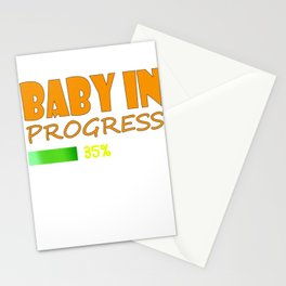 Be proud and tell the world that you are gonna be a family soon with this cool and fabulous tee! Stationery Cards
