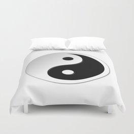 Yin Yang Symbol Duvet Cover