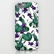 Violets #society6 #decor #buyart iPhone 6s Slim Case