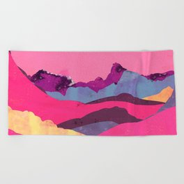 Candy Mountain Beach Towel