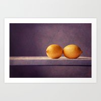 kiss Art Prints featuring kiss by Claudia Drossert