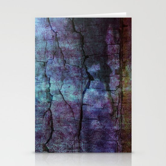 cracked Earth Stationery Cards