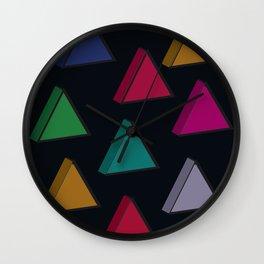 3D X 0.2 Wall Clock