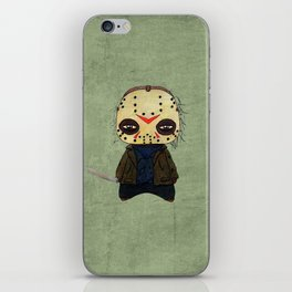 A Boy - Jason ( Friday the 13th) iPhone Skin