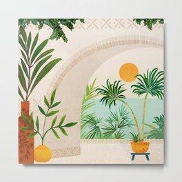 Baja Seaside Landscape Metal Print