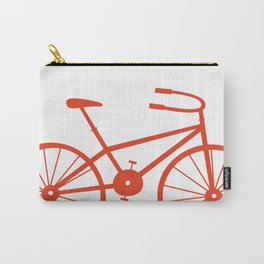 Red Bike by Friztin Carry-All Pouch