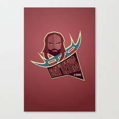 Bat'leths of Kronos Canvas Print