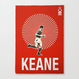 Nottingham Forest Legends Series: Roy Keane Graphic Poster Canvas Print