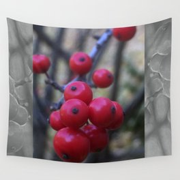 Late Winterberry Wall Tapestry