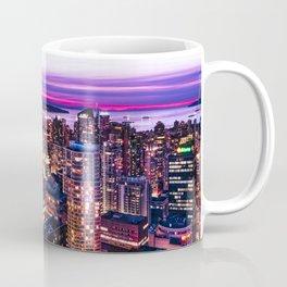 Voyeuristic 1688 Vancouver Cityscape - English Bay Pacific Rim View British Columbia Canada Travel Coffee Mug