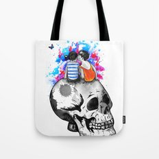 Love, hate, tragedy... Tote Bag