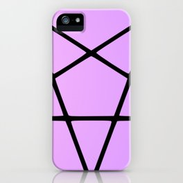 Pastel Pentacle iPhone Case