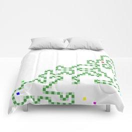 R Experiment 7 (Xmas snake tree) Comforters