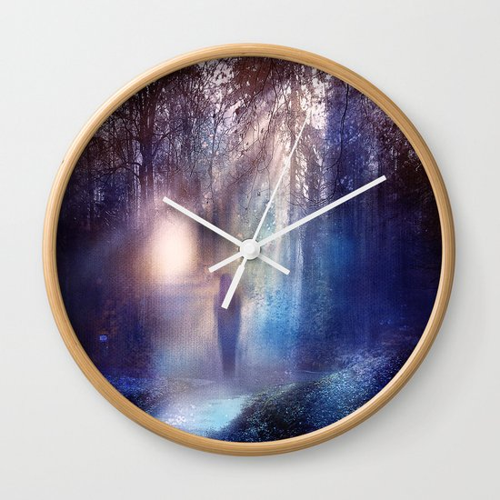 Path lights Wall Clock