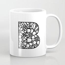 Letter B Coffee Mug