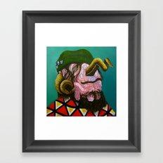 Monobrow Framed Art Print