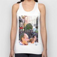 it crowd Tank Tops featuring Crowd  by osile ignacio