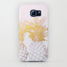 Golden pineapples Slim Case Galaxy S6