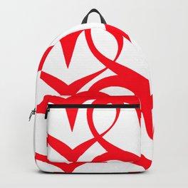 Love heats - Pattern 1 Backpack