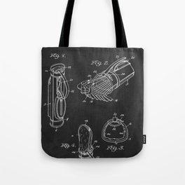 Golf Bag 1933 Patent Tote Bag