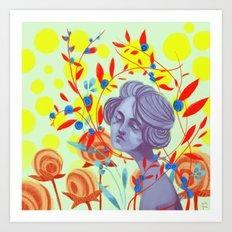 queen of peace Art Print