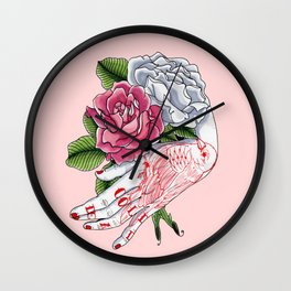 Cold Dead Wall Clock