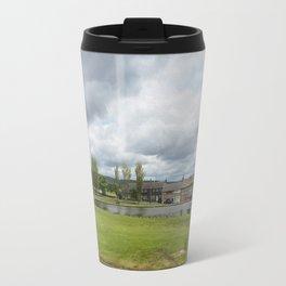 Rochdale Syke pond Travel Mug
