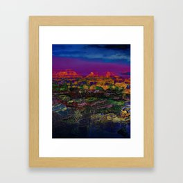 Spectacular Canyon Framed Art Print
