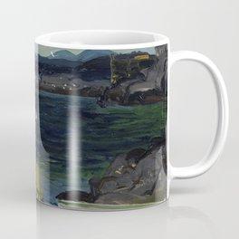 The Harbor Monhegan Coast Maine 1913 Coffee Mug