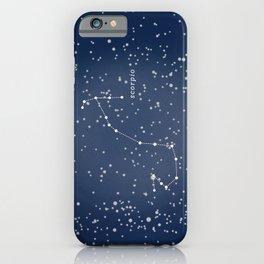 SCORPIO - Astronomy Astrology Constellation iPhone Case
