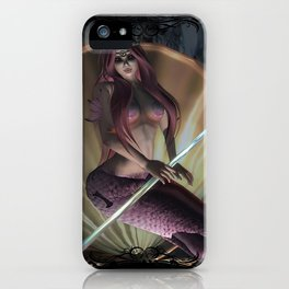 Lost World- Sirena's Primal Power iPhone Case