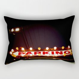 parking Rectangular Pillow