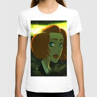 scully T-shirts featuring Scully  by Annalisa Leoni